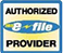 Authorized IRS E-File Provider, Logo